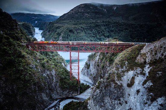 Arthur's Pass Tour with Train Ride...