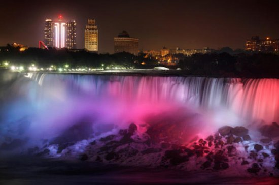 Niagara Falls Evening Lights Day Trip...