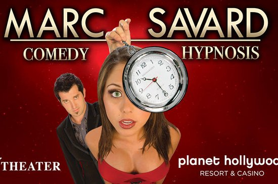 Marc Savard Comedy Hypnosis at Planet