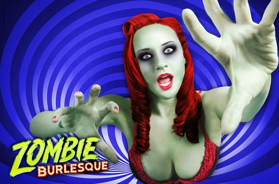 Zombie Burlesque at Planet Hollywood...