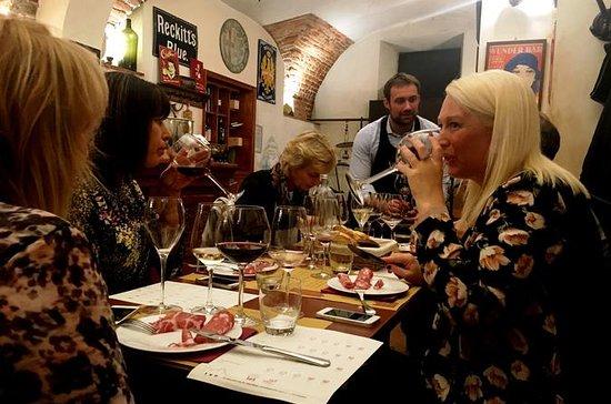 Italiaansewijnproeverij in Milaan