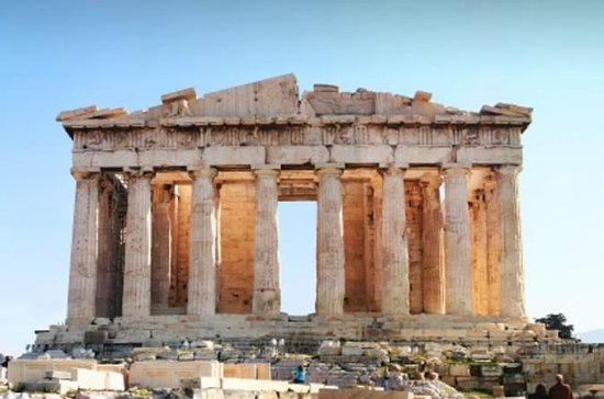 Acropolis with Cape Sounion, Temple...