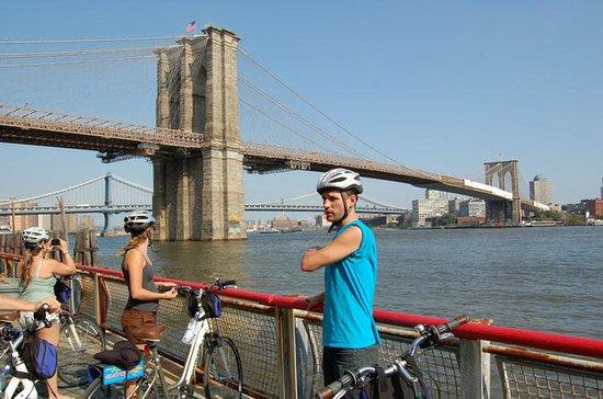 New York City Brooklyn Bridge, Hudson ...