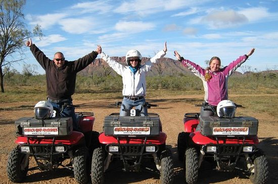 Tour en bicicleta Alice Springs Quad