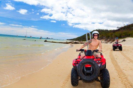 Aventura de ATV saindo de Cancún