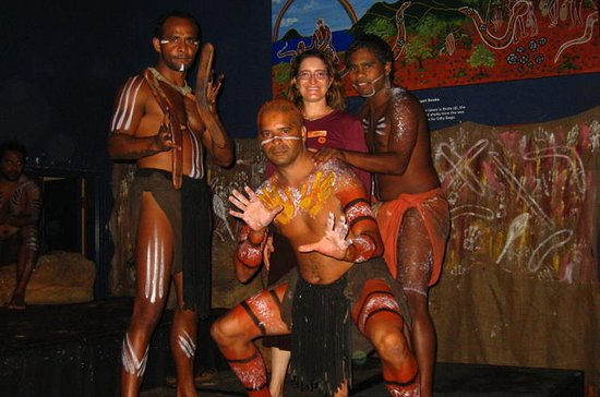 Tjapukai Aboriginal Culture Night Tour with Dinner from Cairns