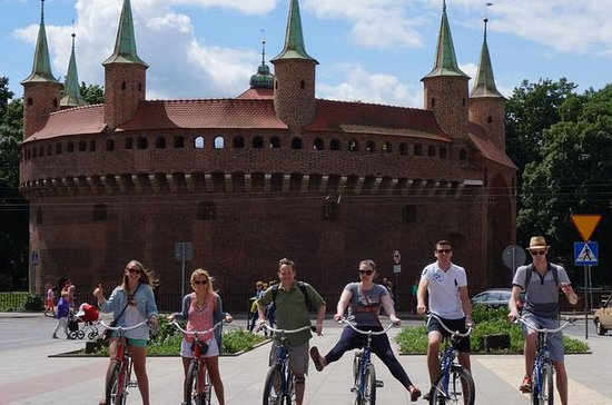 Visite de Cracovie en vélo