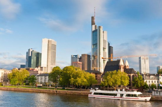 Frankfurt: Bootstour