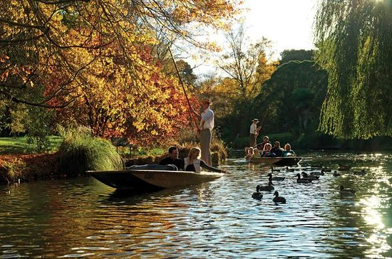 Christchurch River Punting with Botanic Garden Upgrade