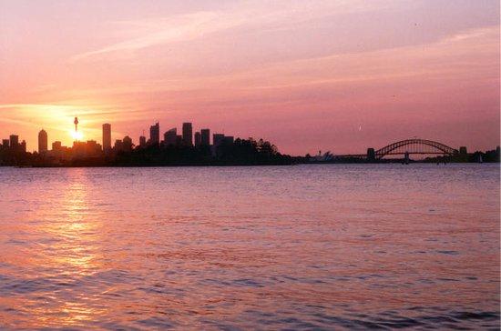 シドニー港のサンセット・セーリング