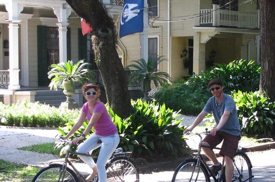 New Orleans French Quarter and Fabourge Marigny Bike Tour