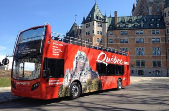 Tour Hop-On Hop-Off di Quebec City