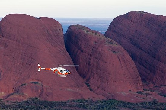 Ayers Rock Helicopter Tour to Uluru