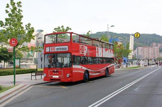 Recorrido en autobús con paradas...