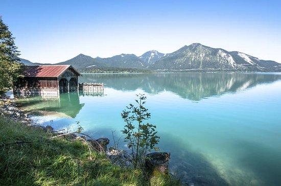 Bavarian Mountains from Salzburg