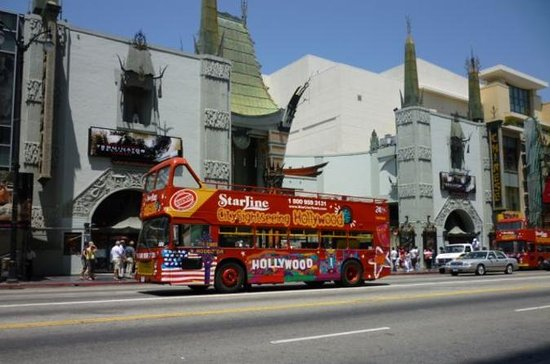 Los Angeles Hop Hop f Double Decker Bus Tour provided by