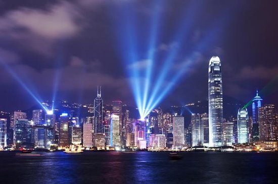 Hong Kong Harbor Night Cruise And