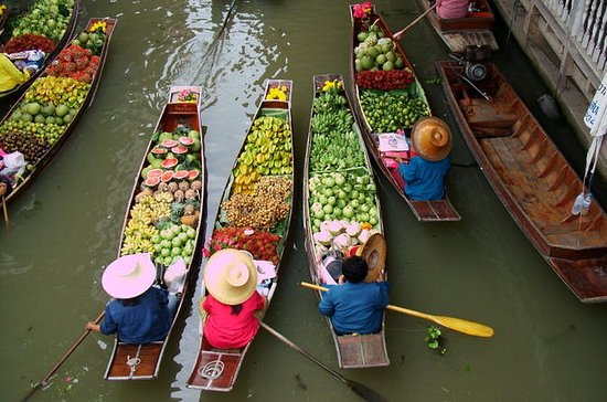 River Kwai Bridge, Floating Markets...