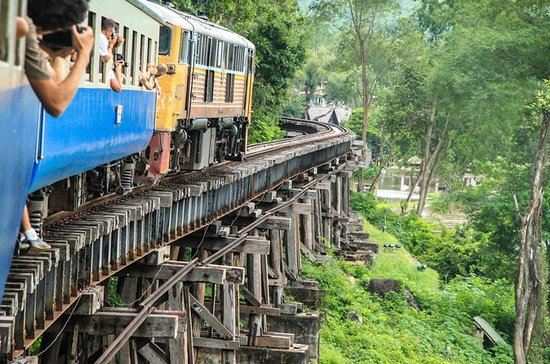 Bridge on the River Kwai and Thailand-Burma Railway Tour