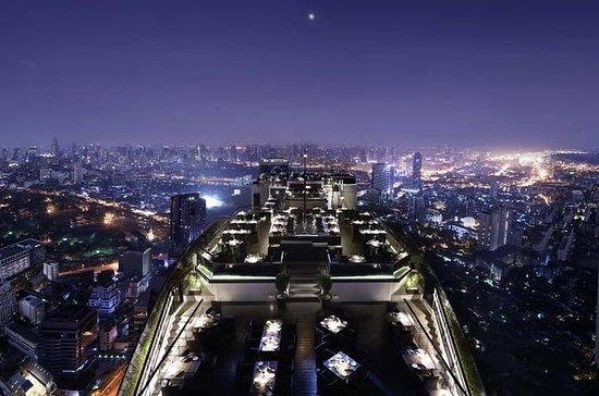 Elegant måltid i Vertigo Rooftop...