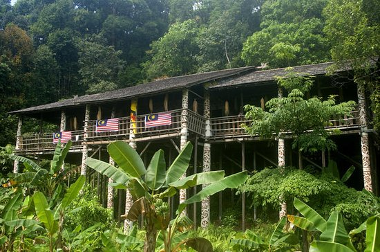 Traditional Bidayuh Village Bamboo...