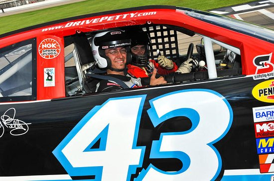 Richard Petty Race Car Ride-Along...