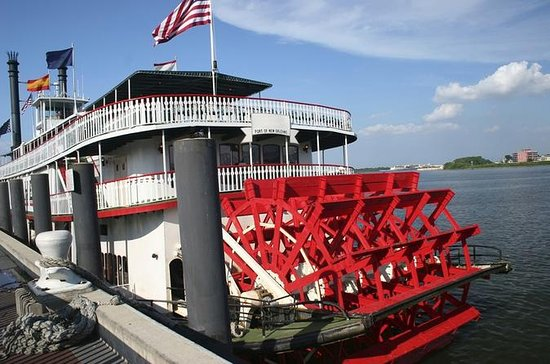 New Orleans Natchez Harbor Steamboat Cruise with Live Music