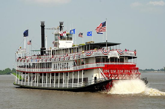 New Orleans Steamboat Natchez Brunch Cruise Mississippi Tour