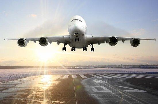 Servicio continuo de traslado para llegadas al aeropuerto de Madrid