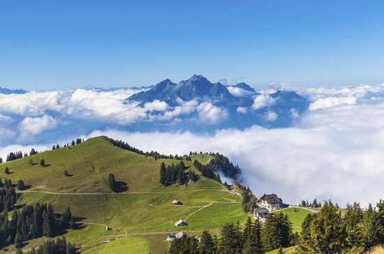 Två dagars alprundtur från Zürich ...
