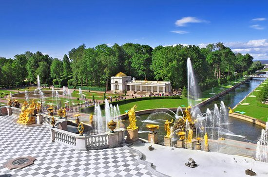 Demi-journée d'excursion à Peterhof...