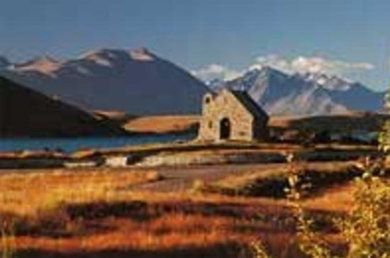 Christchurch para Wanaka via Tour...