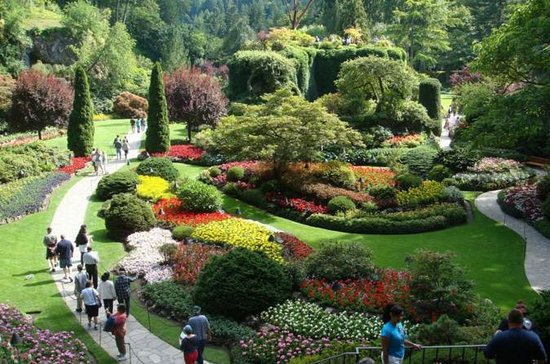 Vancouver to Victoria and Butchart Gardens Tour by Bus (234156463)