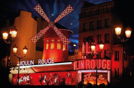 Moulin Rouge Show Parijs