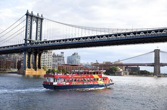 Tour hop-on/hop-off di New York e crociera nel porto