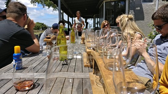 Gisborne, New Zealand: Awesome afternoon at the winery!