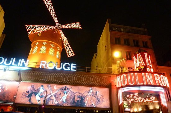 Eiffel Tower, Paris Cabaret Show and ...