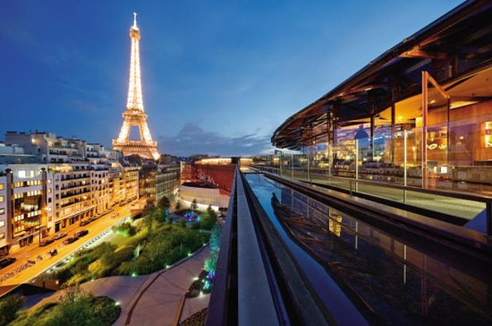 Seine River Cruise and Rooftop Dinner...