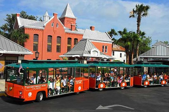 Tour di St. Augustine in tram Hop-On