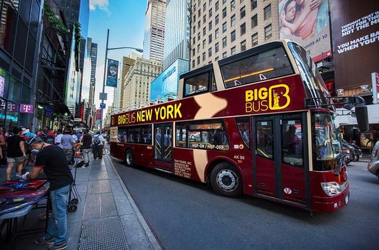 New York City Hop-On Hop-Off Double-Decker Big Bus Tour