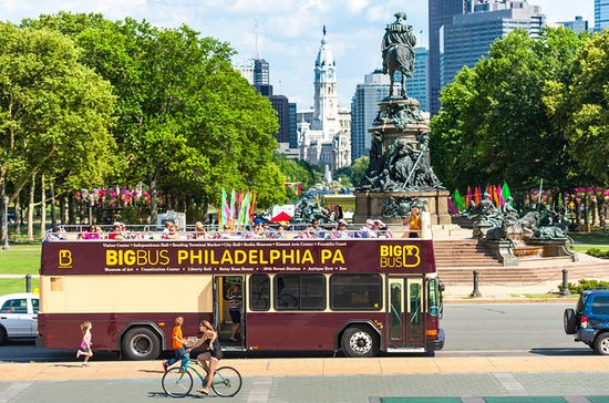 Philadelphia Hop-On Hop-Off Bus City...