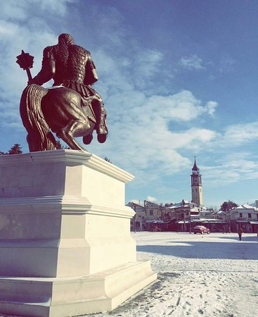 Prilep, Republic of Macedonia: King Marko in winter