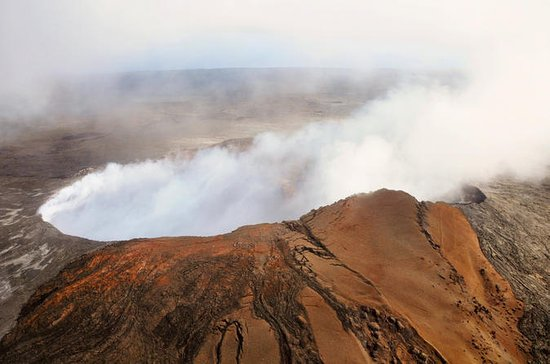 Volcano by Air and Land: Helicopter...