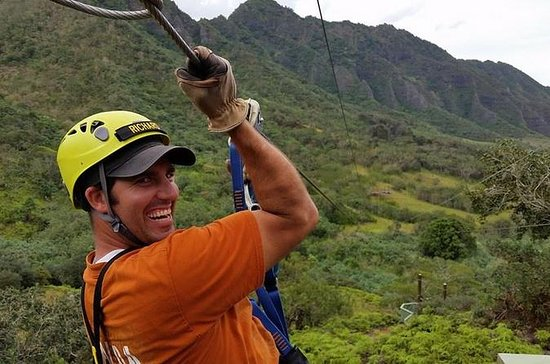 Kualoa Ranch Zipline Tour
