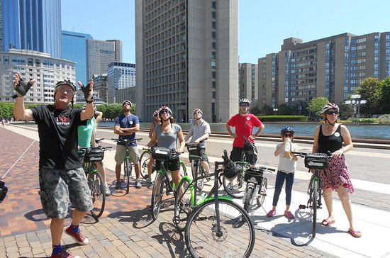 Boston Bike Tour with Guide, including North End, Copley Sq.