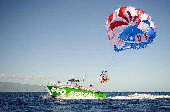 Parachute ascensionnel à Big Island