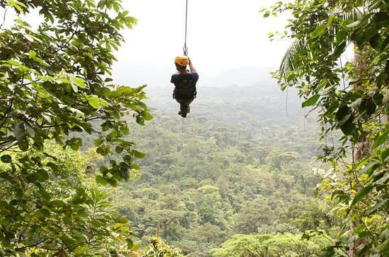 San Jose Rainforest Canopy Zipline...
