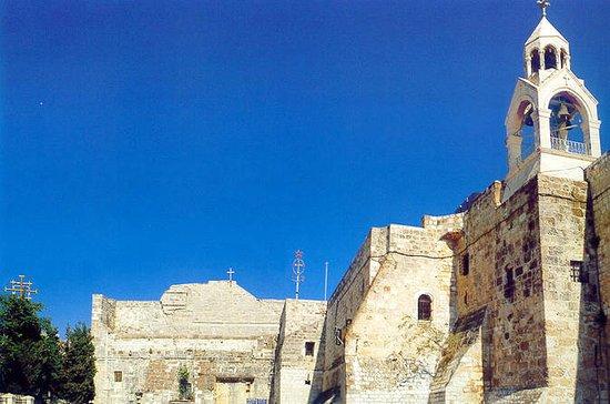 Kleine stad van Bethlehem Halve ...