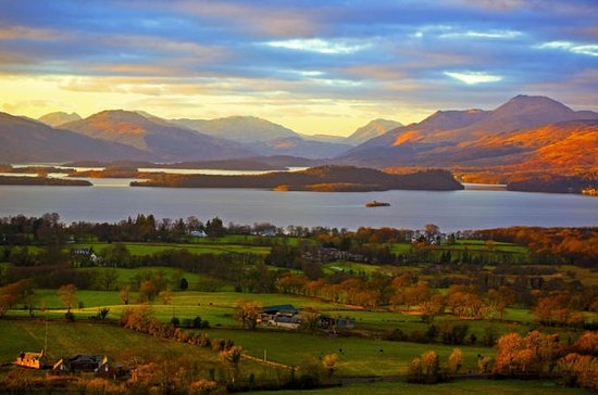 Loch Lomond, Trossachs National Park...