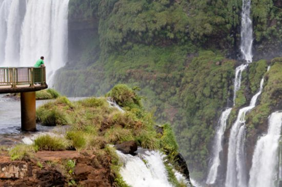 Iguassu Falls in Brazil and Argentina...